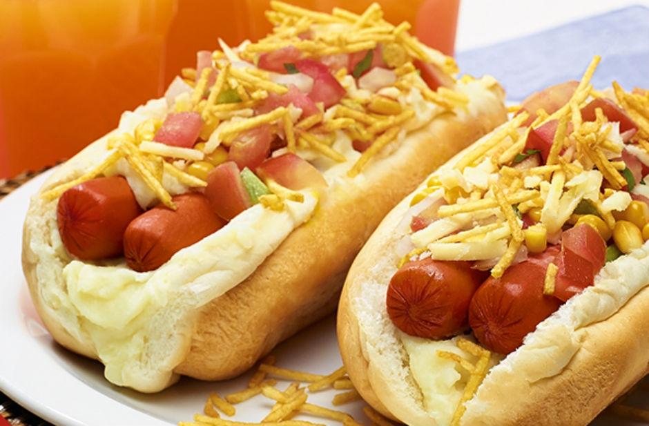 Brazilian Completo Hot Dog