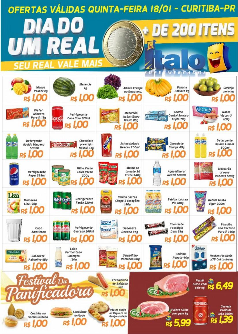 96d69ace9cdc2 Mercado 'enlouquece' e coloca produtos à venda por R$ 1 - 98FM Curitiba -  Sintonize 98,9