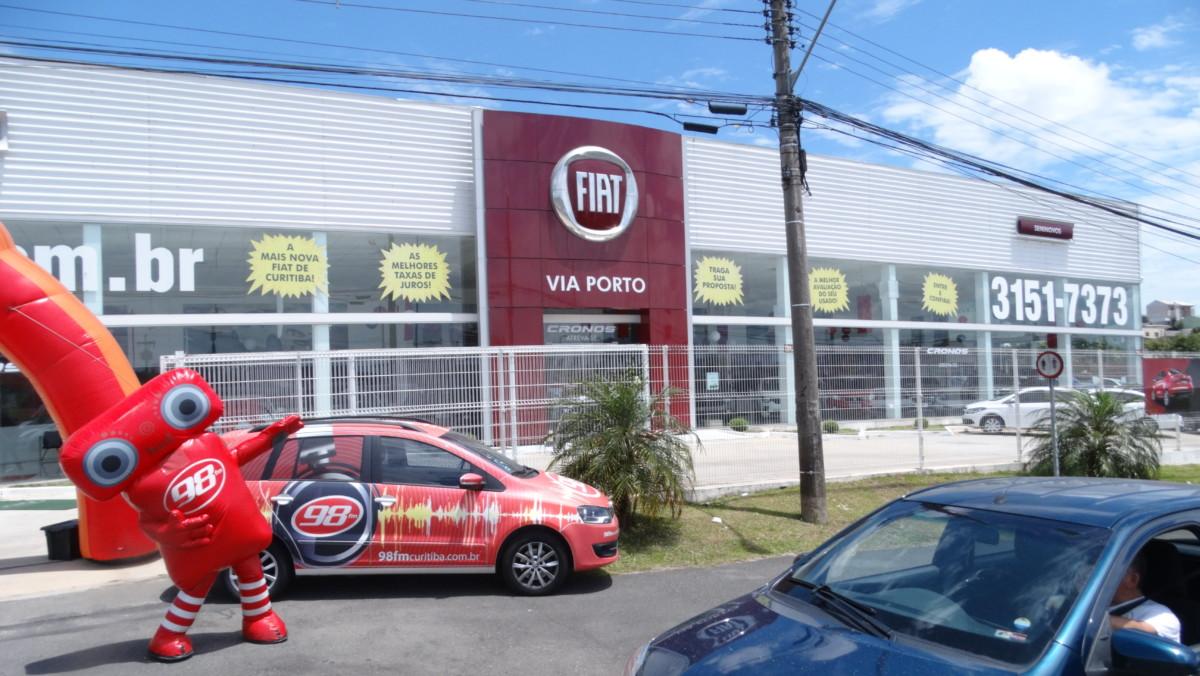 192fb4df4 FIAT VIA PORTO LINHA VERDE - 15.12 - 98FM Curitiba - Sintonize 98,9