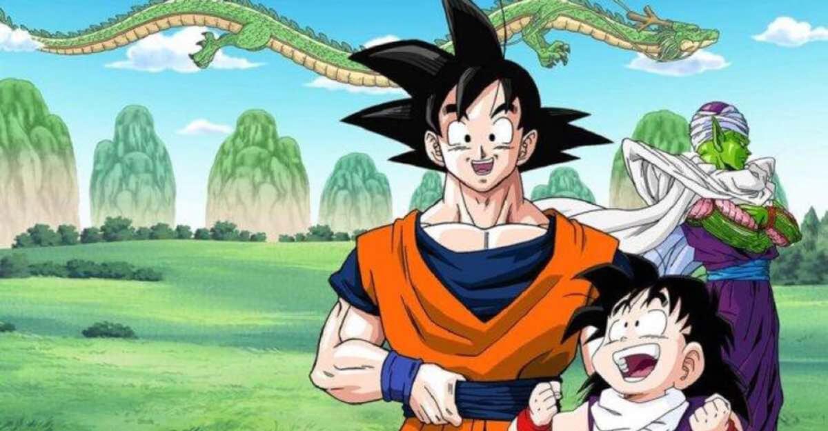 Goku, Gohan e Picollo