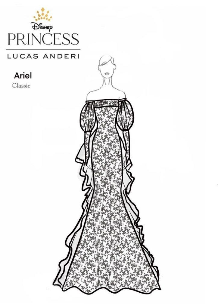 vestido noiva princesa ariel 0721
